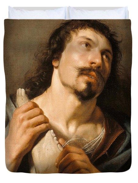 Salomon de Bray (1597-1664),  SAMSON WITH JAWBONE, o\c,25-1/4 x 20-5\/8 inches,  The J. Paul Getty Museum