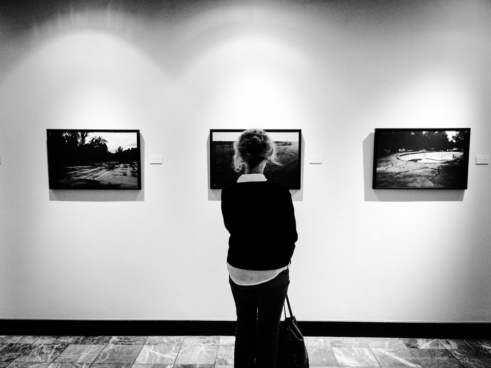 gallery lady