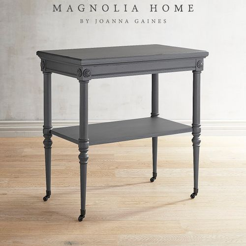 Magnolia Home Petite Rosette Gray Accent Table, found  here