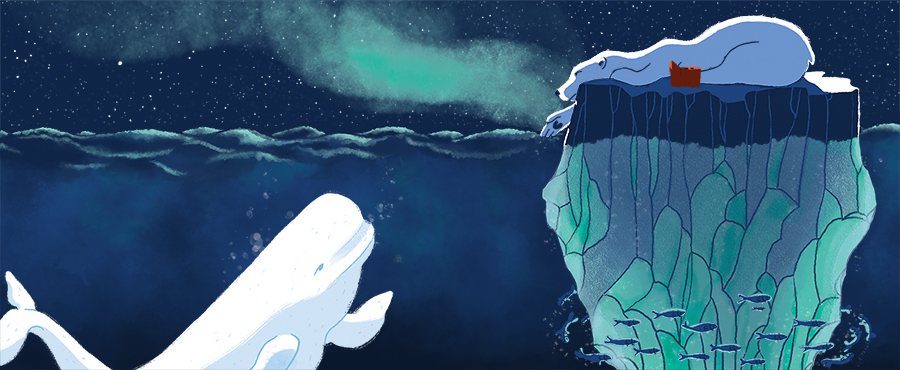 Pola the Bear - The tale of a polar bear who, exploring the limits of her Arctic territory in search for food, suddenly finds herself drifting away on a melting iceberg. Nevertheless, Pola is determined to make the most of her journey...