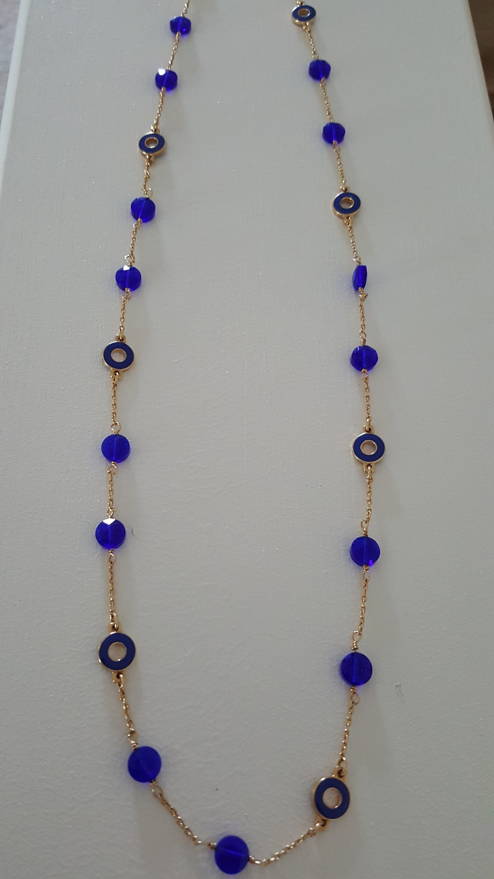 Blue JCREW Necklace