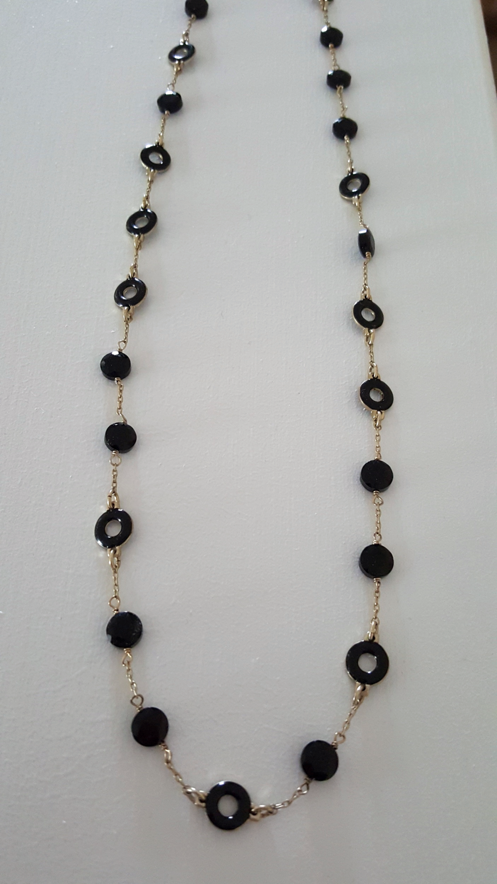 JCREW Black Necklace