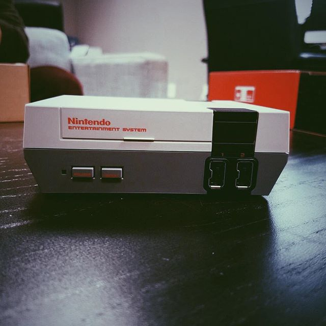 A new challenger appears! #nes #nesmini