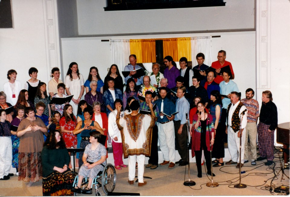 Kulshan Chorus performing at Whatcom Museum 1992