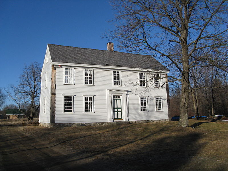 Thoreau's birthplace, the Wheeler Minot Farmhouse in Concord, MA. Photo credit: John Phelan