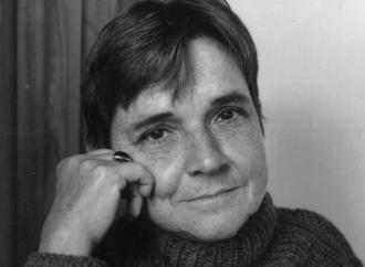 Adrienne Rich. Photo copyright by Robert Giard.