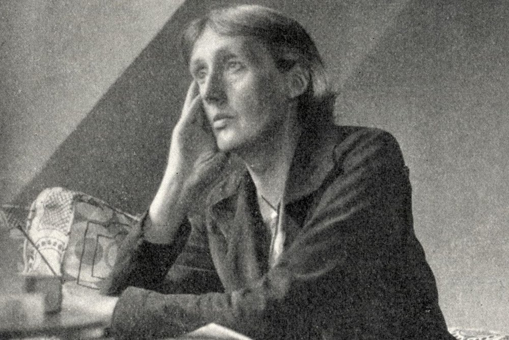Virginia Woolf was the typesetter for Hogarth Press, which she & husband Leonard founded in 1917