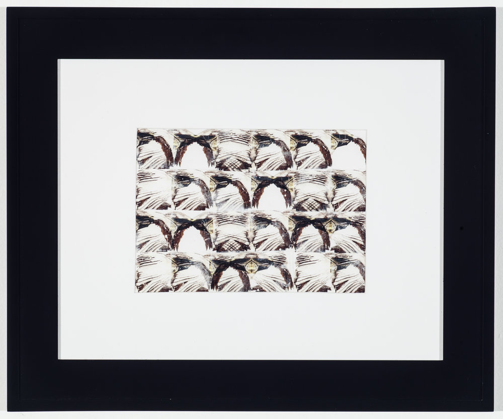 Modulating Rauschenberg VI 2014 Laserprint collage on paper 6 in x 8 in