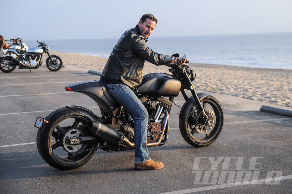 "Keanu Reeves chose his motorcycle company's name because an arch ""provides strength, connection, and passage."" Many model names were also bandied about—Enemy, Nemesis, and Rival were obvious ones—before settling on the alphanumeric KRGT-1."