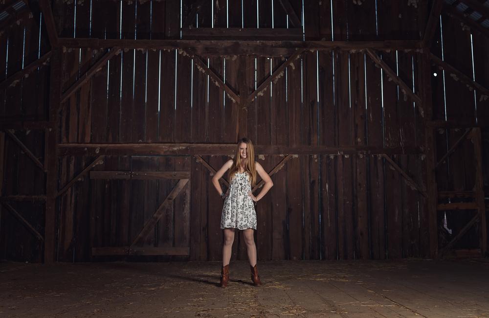 Senior-Portait-Southern-Humboldt-Community-Park-Vintage-Barn-Attitude-Rocking-It-Light-