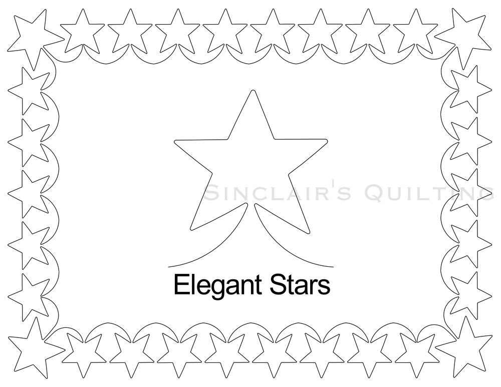 Elegant Corner Borders Elegant Stars Border Set Jpg