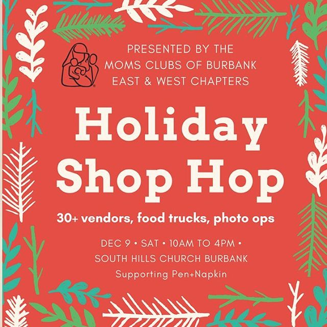 Join L.A. Wing Co. TOMORROW (Saturday, December 9) from 10AM-4PM for the MOMS CLUBS OF BURBANK HOLIDAY SHOP HOP located at South Hills Church (222 S. Victory Blvd. Burbank 91502) 🎄🐔🎄If you want L.A. Wing Co. at your next PRIVATE EVENT or GATHERING...give us a call ☎️(323) 739-4104📞 💻 E-mail us @ info@LAWingCo.com💻 or visit our WEBSITE @ LAWingCo.com for more information!!!! #LaWingCo #wings #eats #yum #food #fried #foodie #foodporn #foodtruck #Instafood  #bww #streetfood #gourmet #hotsauce #hotwings #LosAngeles #chef #LATimesFood #chicken #chickenwings #bestwings #buffalosauce #buffalowings #nomnom #munchies #aintnothang #foodstagram #LARams #BestWingsInLA