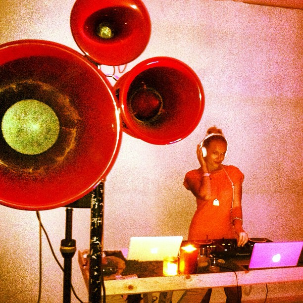 DJing at the spot. #coxiststudio #hnlnightmarket