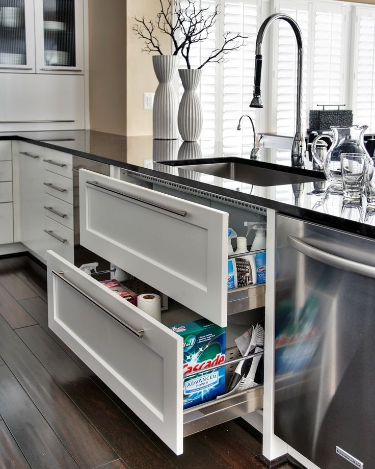 Here A Few Clever Design Ideas To Get You Thinking About How You Can Best  Organize Your Space To Create A Functional And Practical Kitchen Design.