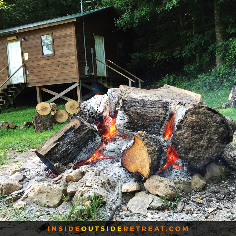 But we'll keep the fire burning for next year!   Click here to get updates on our 2016 retreat
