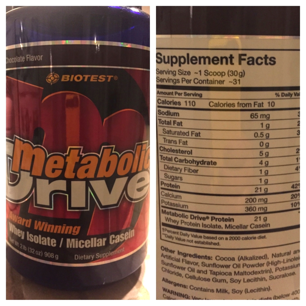 Metabolic Drive, from Biotest is one option that tends to be lower in calories and carbs and has 21 grams of protein per scoop. It's best to get all protein from whole foods, but sometimes, a shake can be more convenient.
