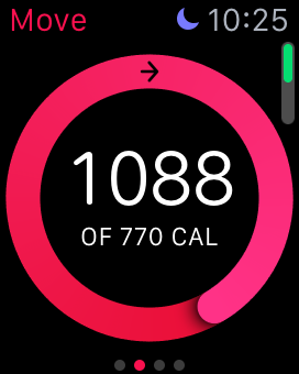 Did I really burn 1088 calories yesterday? Possibly. I happened to walk almost 20k steps because I taught five classes. But why does my Apple Watch think I should burn 770 calories a day? It's just a formula. It's just a number.