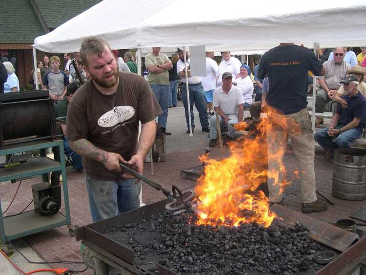 Fire on the Mountain Blacksmithing Festival