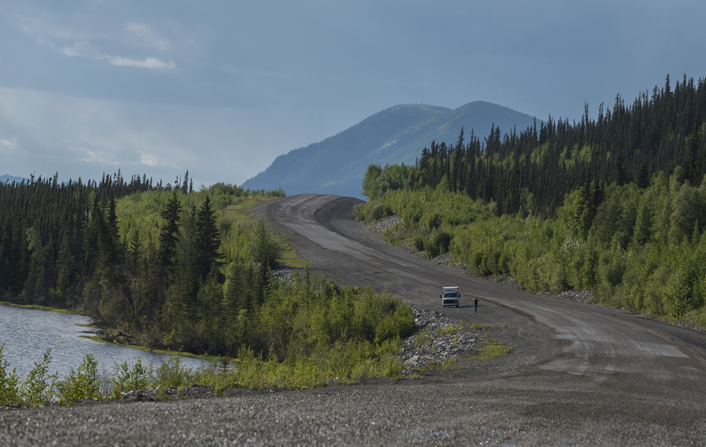 The Alaskan Highway.