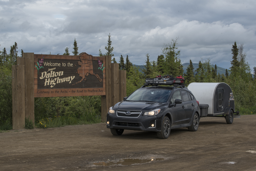 The Subaru Pre-Dalton Highway!
