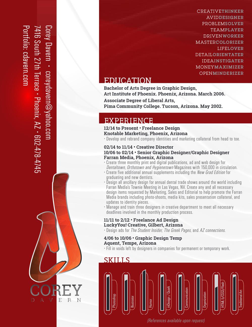 Resume Design Portfolio
