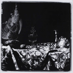 Sebastiaan Bremer , Game Piece with Glass and Shell, 2009, inks on gelatin silver print, 19 3/4x19 3/4 inches