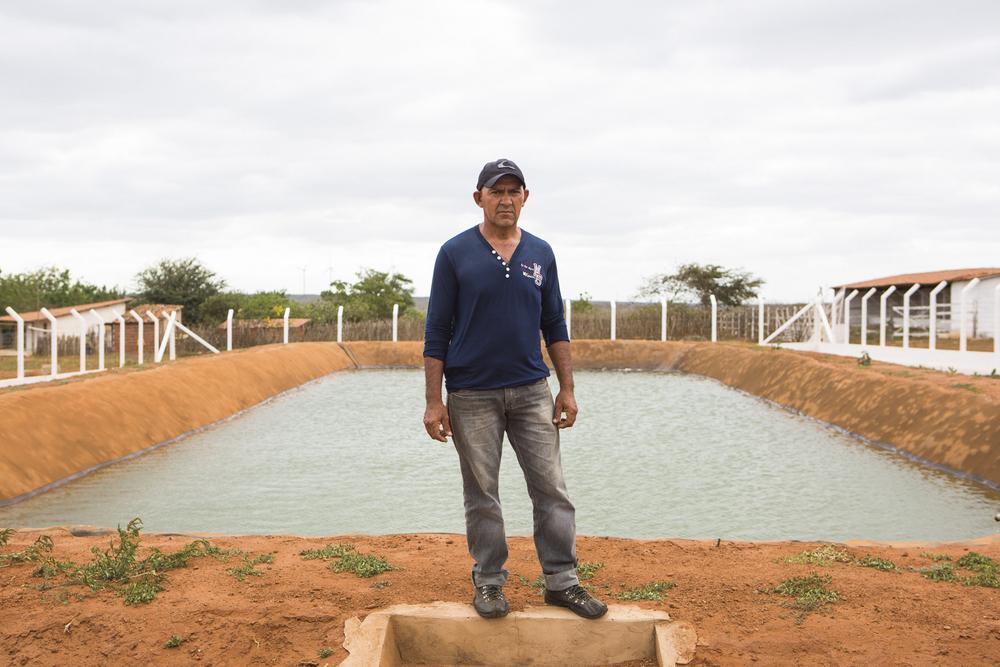 Assentamento Maria da Paz, RN, 15 de outubro de 2015 - João, um dos entrevistados do Assentamento Maria da Paz. (©Greenpeace/Otávio Almeida)