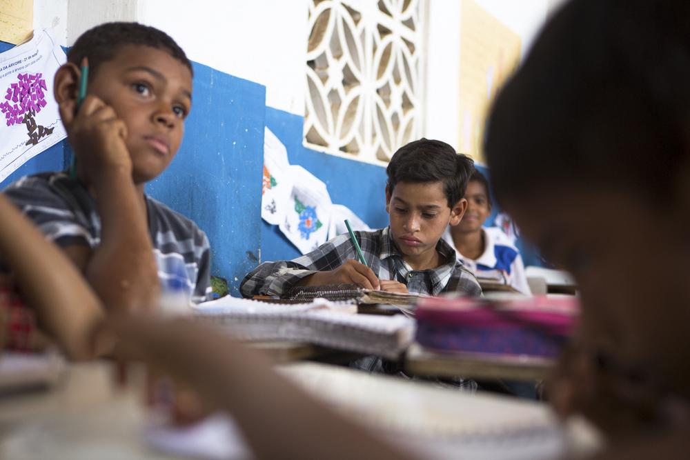Assentamento Maria da Paz, RN, 15 de outubro de 2015 - Escola Municipal Maria da Paz. (©Greenpeace/Otávio Almeida)