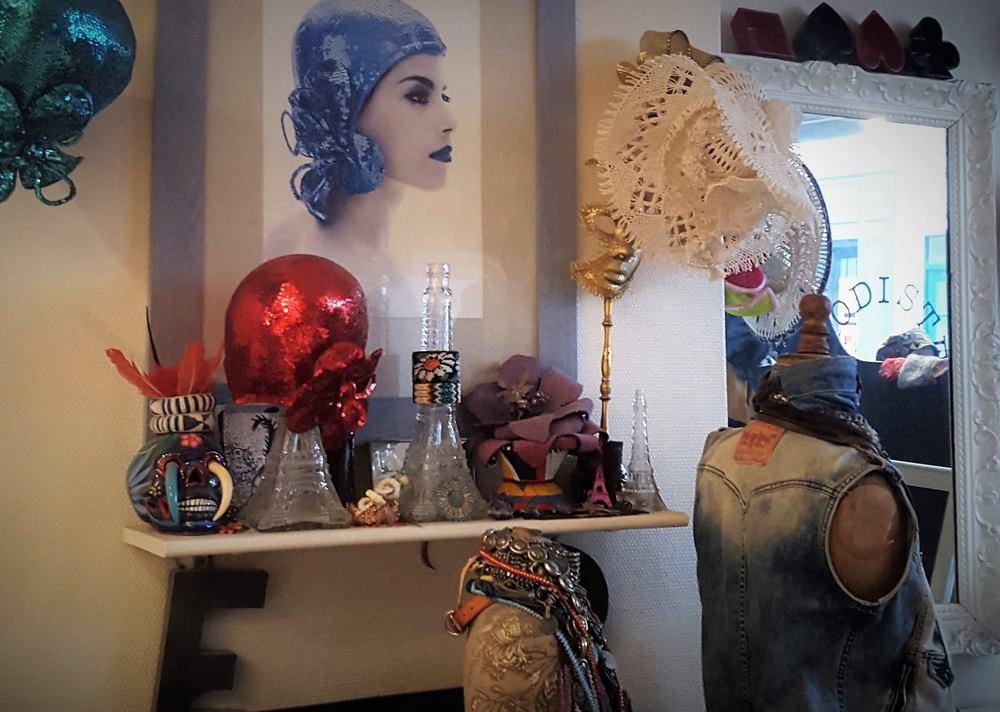 Estelle Ramousse's Studio/Shop, November 2015