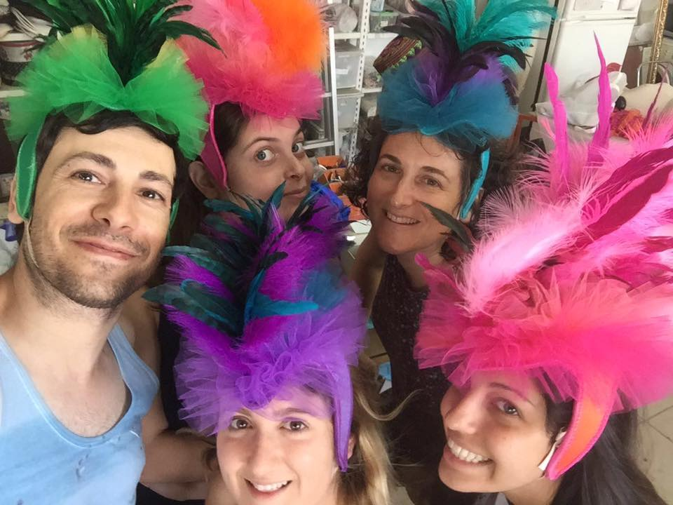Internship with Maor Zabar Hats, Tel-Aviv - August 2016
