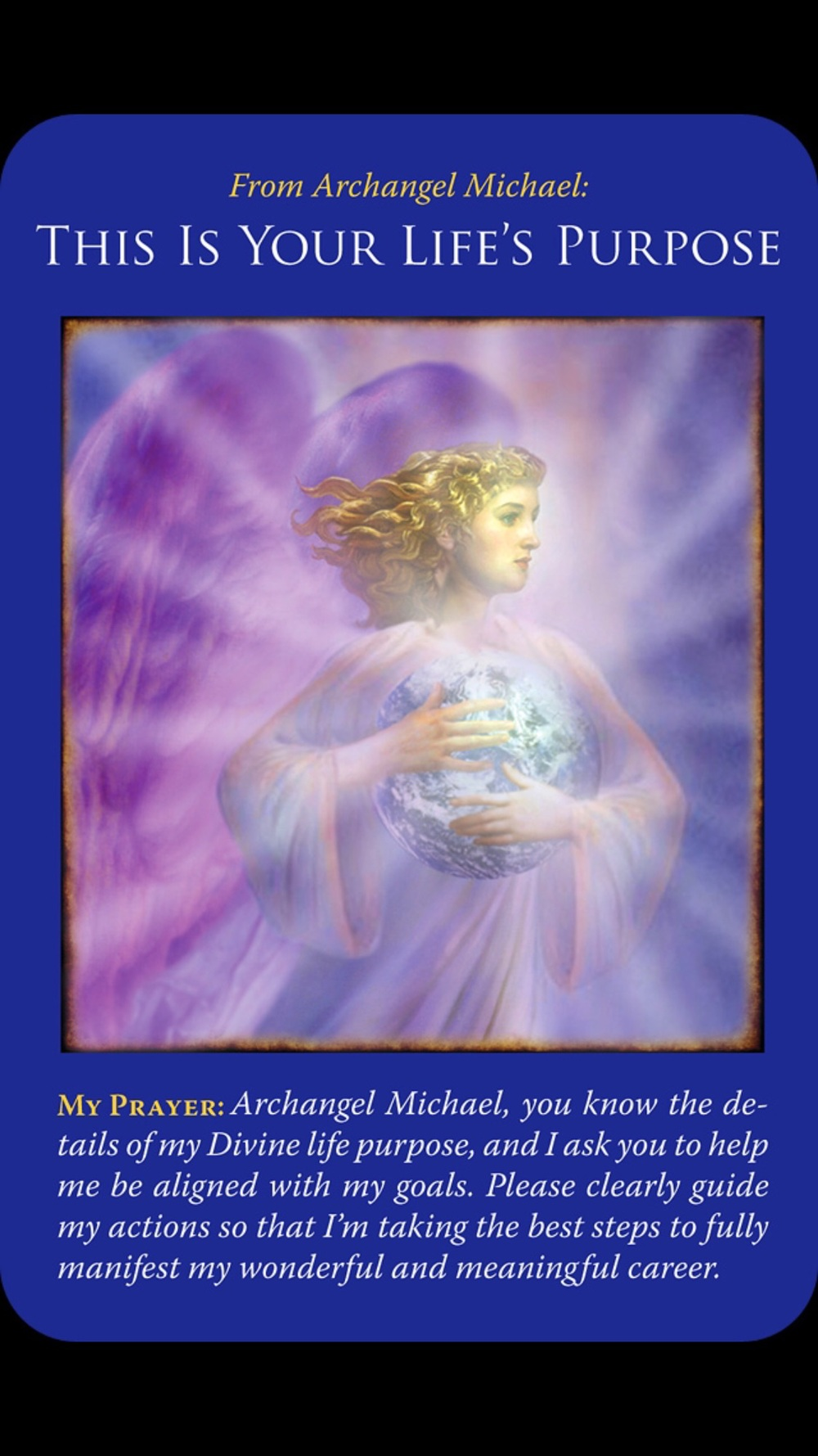 Deck Used: The Archangel Michael Oracle Cards
