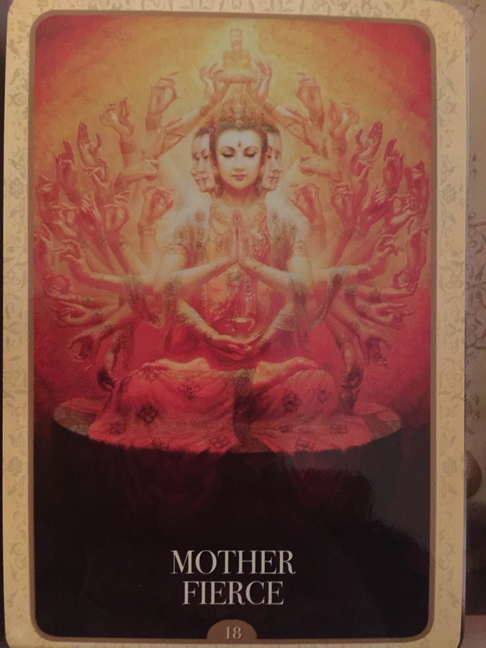 Deck Used: Kwan Yin Oracle