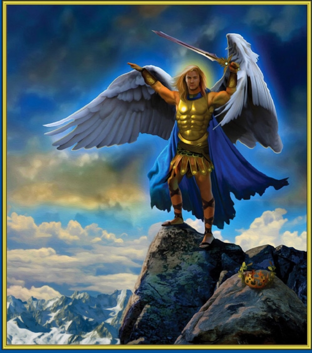Image from the Archangel Power Tarot by Doreen Virtue and Radleigh Valentine