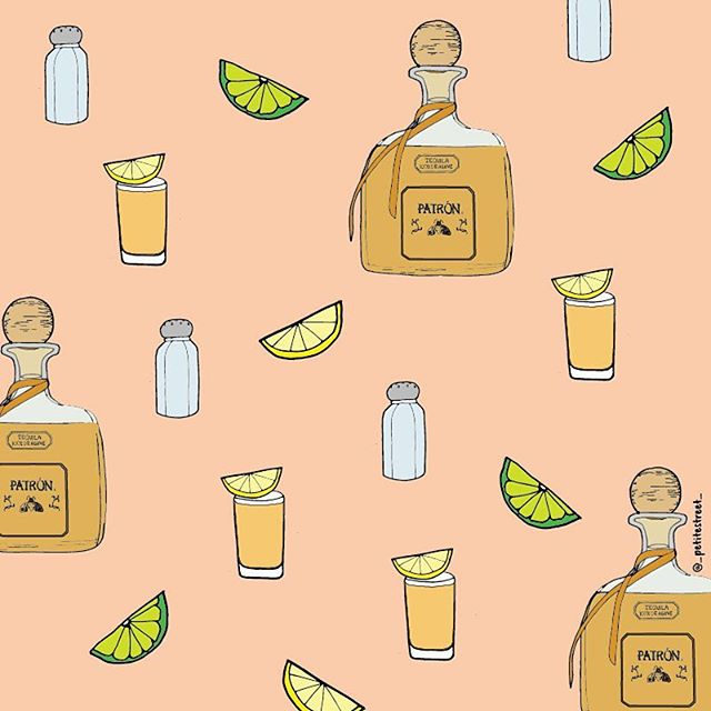 When life gives you lemons drown your sorrows in tequila 🍋Who will you be downing shots with this weekend? 👯#petitestreetdrawing