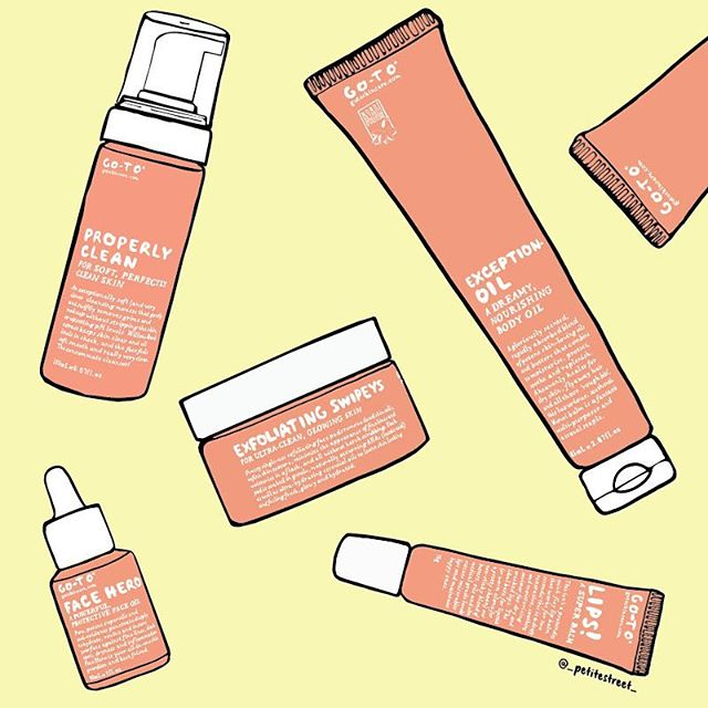I'm on the wrong side of the my twenties now, so I need beauty products that actually work 😬@gotoskincare has featured in my daily regime since it launched (side note: I can't wait for their sunscreen). What skincare products do you swear by? #petitestreetdrawing