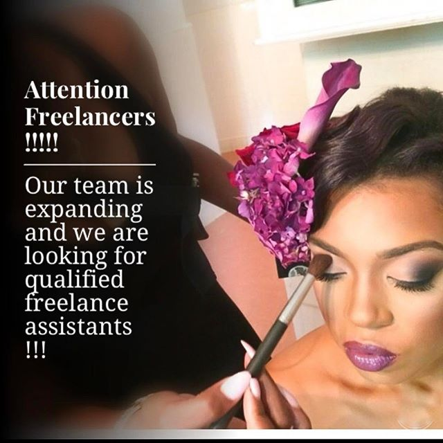 Our business is growing so fast 🙌🏾🙌🏾🙌🏾 and we are more than honored that our Atlanta clients are calling our name!!!!! We are expanding our team and seeking qualified freelance hair or makeup artists assistants  to come aboard our GLAM TRAIN... 😉  If you are in the Atlanta area and would like to speak to us more about being apart of our team as a freelance assistant  call us at 404-981-3362 or send us an email at Toni.klynnartistry@gmail.com  Inquire within 💋💋💋 #makeupartist #makeupartistassists #hairartistassistant #atl #atlanta #bridal #bridalmakeup #atlmakeupartist #atlmua #glamteam