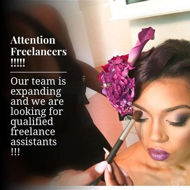 K.Lynn Artistry is taking over ATLANTA !!!! 🙌🏾🙌🏾🙌🏾. We are more than honored that our Clients here in ATL are shouting our name !  We are now expanding our team and seeking qualified hair/makeup assistants to come board our GLAM TRAIN !!!! 😉  If you are in the Atlanta area and would like to speak with us further about Being apart of our team as a freelance assistant , please contact us at 404-981-3362 or email us at Toni.klynnartistry@gmail.com  Inquire within 💋💋💋 #glamteam #atlmua #atlmakeupartist #bridalmakeup #bridal #hairstylist #assistant #muaassistant