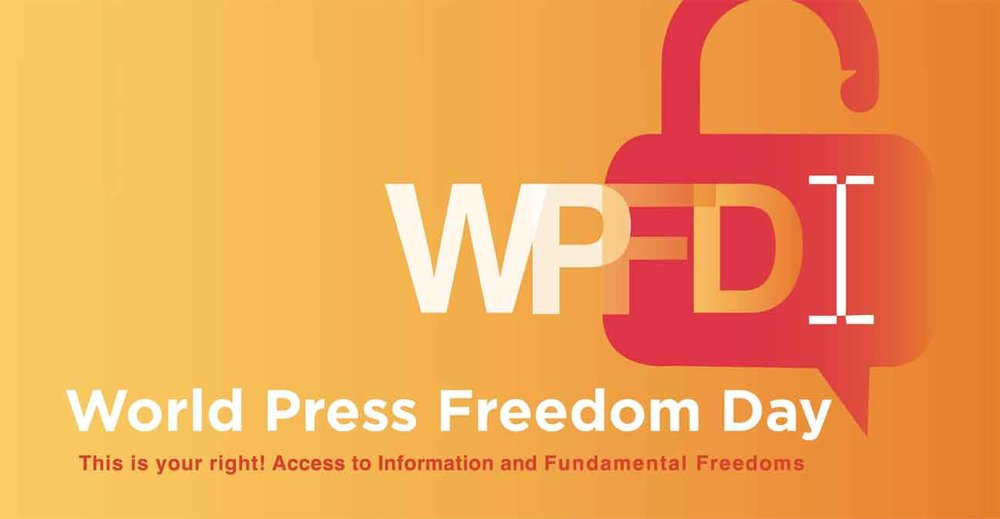 Brand Identity for the World Press Freedom Day 2016