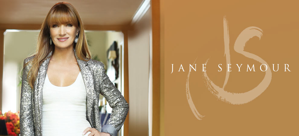 Jane Seymour and Michael Amini Collaboration