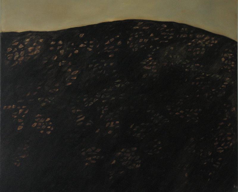 "Twilight   oil on canvas  48"" x 60""  1995  $6,000"