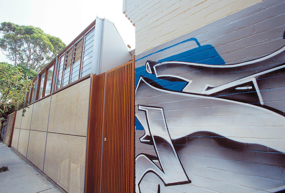 House in King Street Newtown renovated by Chris Major and David Welsh of Welsh + Major, .