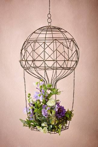 Hot Air Balloon Flower Holder