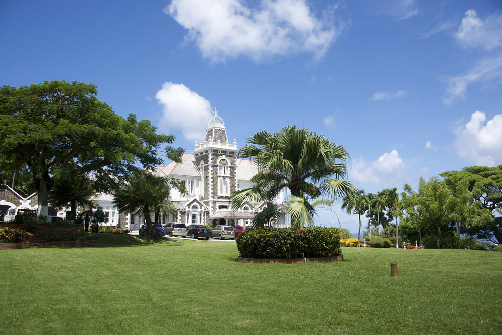 Government House,Saint Lucia - The Government of Saint Lucia has a target of generating 35% of its electricity from renewable sources by 2020.