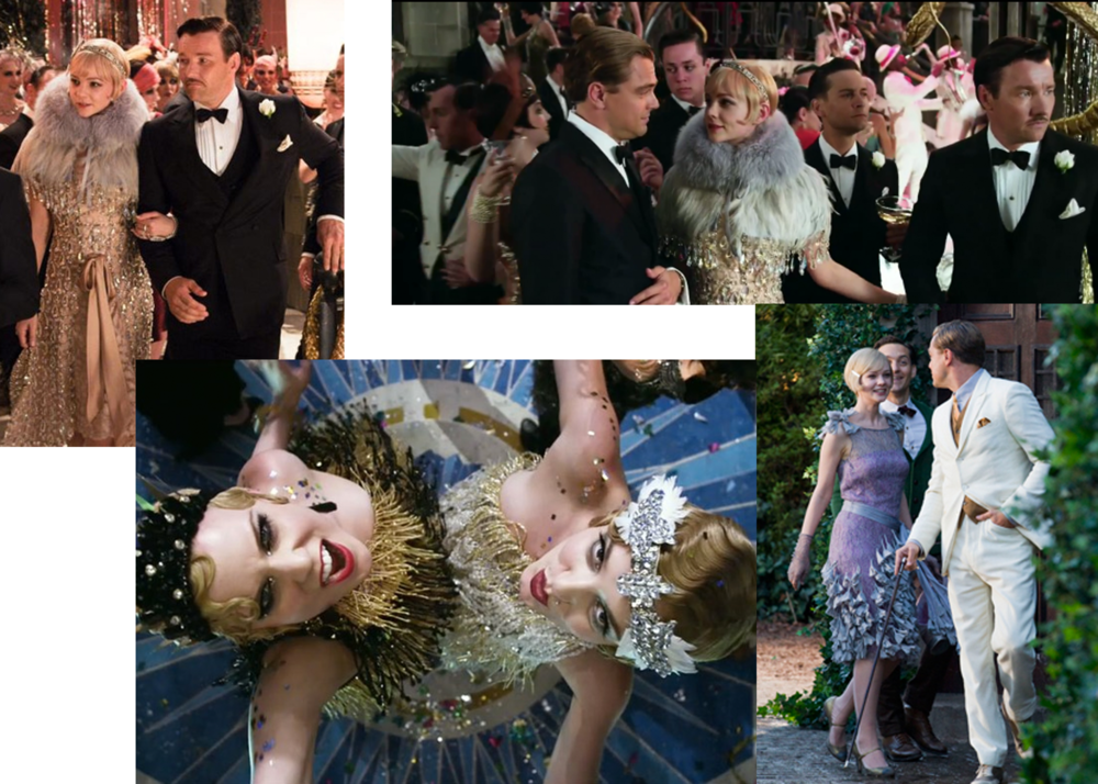 Film stills from the upcoming  Baz Luhrmann  film,  The Great Gatsby  starring Leonardo DiCaprio, Isla Fisher, Carey Mulligan and Tobey Maguire.