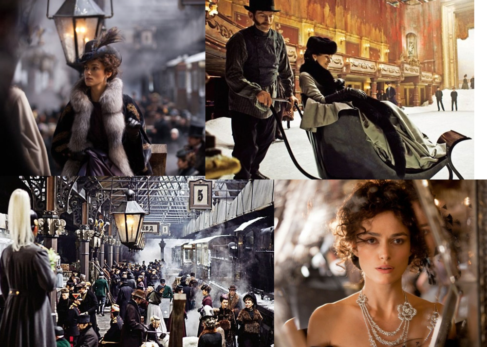 Film stills from the upcoming adaptation of Leo Tolstoy's  Anna Karenina  starring Kiera Knightly and Jude Law