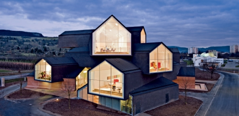 Herzog & de Meuron designed the Vitra Haus