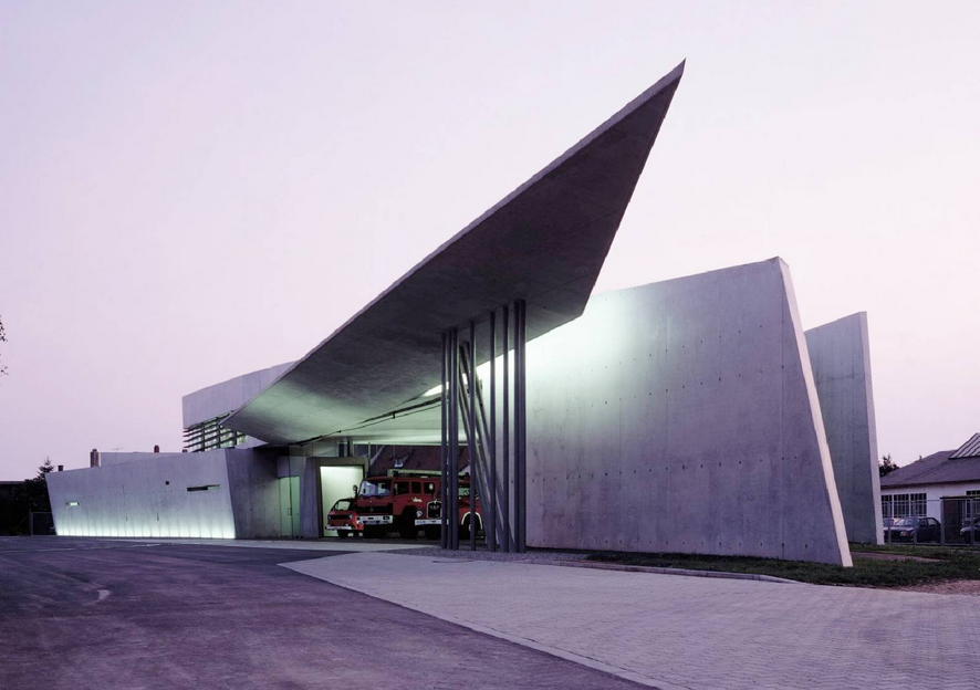 Zaha Hadid designed Fire House