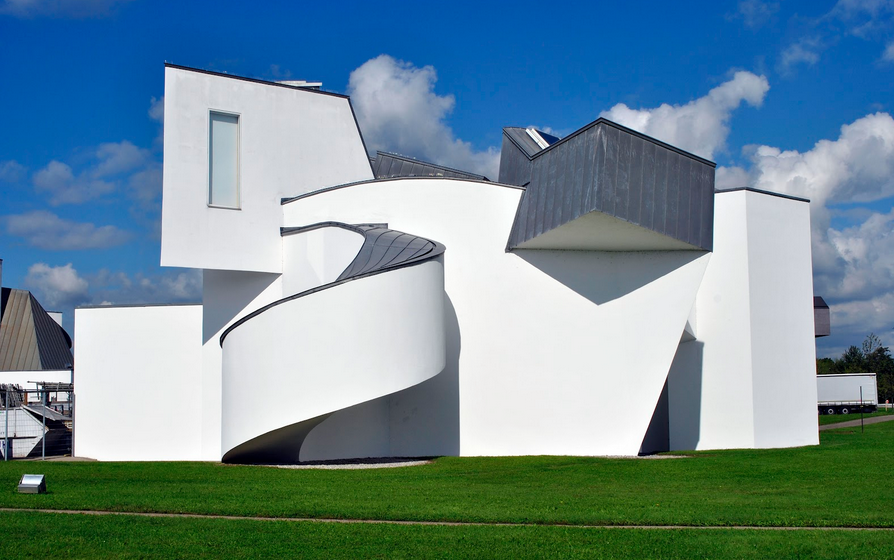 Frank Gehry designed Swiss Circle