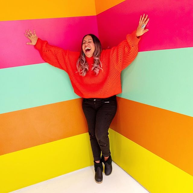 Feelin cute, might paint with all the colors of the wind later. #worklifebalance #thecolorfactorynyc