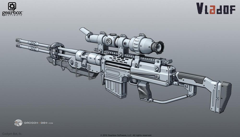 VLADOF gun - see the process of the gun here